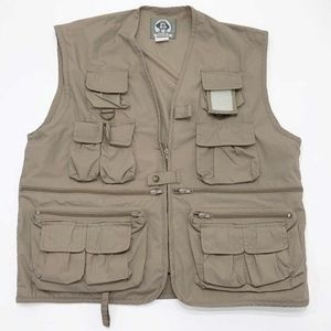 Rothco Uncle Milty Mens XL Multi Pocket Vest Tan